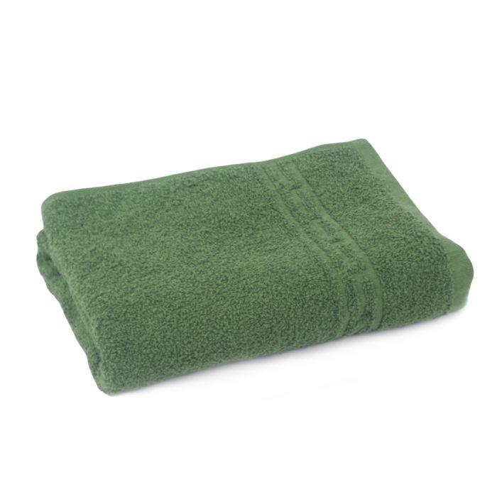 Полотенце махровое Ocean 400 30*50 (064 темно зеленый, шт)