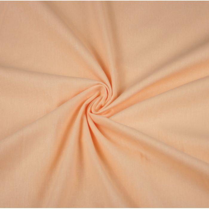 Бязь гладкокрашеная персиковая от производителя Иваново