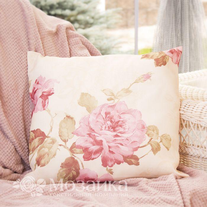 Подушка декоративная Romance 40*40 BELEZZA (050 Розовые цветы, шт)