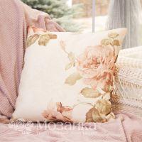 Подушка декоративная Romance 40*40 BELEZZA (034 Бежевые цветы, шт)