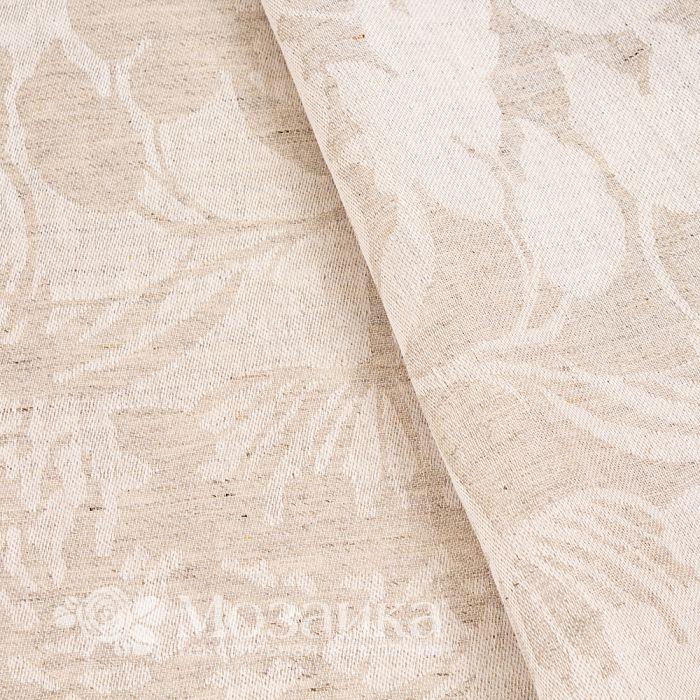 Ткань скатерная п/л п/вар жаккард ш 160 Кострома (Травы, шт)