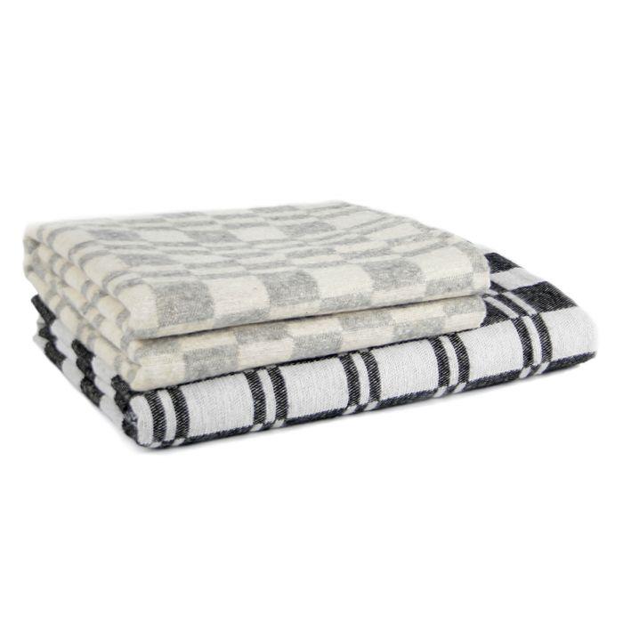 Одеяло байковое 90*100 клетка (Серый, шт)
