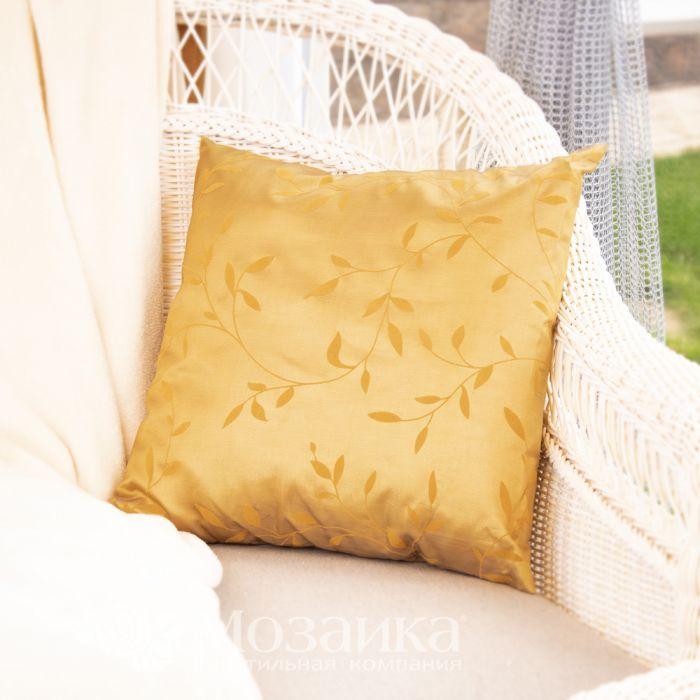 Подушка декоративная Promo1 40*40 (027 золотой, шт)