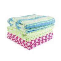 Одеяло байковое 100*140 клетка (Байка, шт)