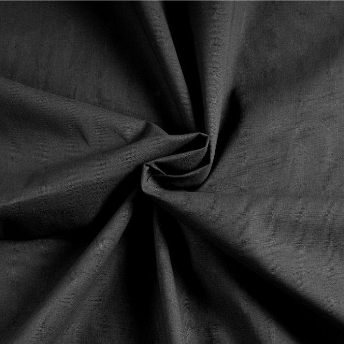 Бязь гладкокрашеная черная от производителя Иваново