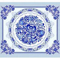 Ткань вафельная набивная ш 50 (19966/1 Сувенир, м)