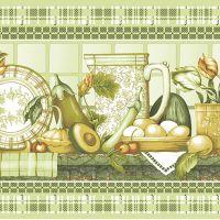 Ткань вафельная набивная ш 50 (20424/1 Усадьба, м)
