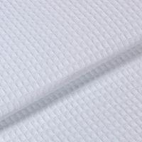 Ткань вафельная отбеленная  ш 45  пл 200 (Плотность 200, м)