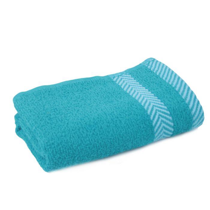 Полотенце махровое г/к 45*90 ФИШБОУН пл.420 (Голубой Blue topaz, шт)