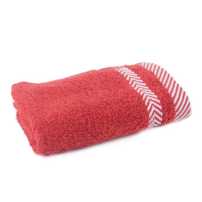 Полотенце махровое г/к 45*90 ФИШБОУН пл.420 (Красный High Risk Red, шт)